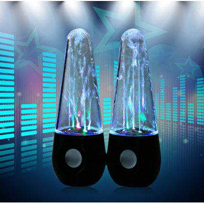 LED Light Dancing Water Speaker