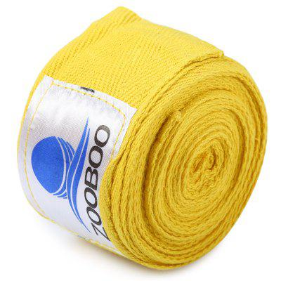 Zooboo 1 Pair 5cm Width 3M Length Cotton Boxing Handwrap Sanda Fighting BandageBoxing<br>Zooboo 1 Pair 5cm Width 3M Length Cotton Boxing Handwrap Sanda Fighting Bandage<br><br>Color: Black,Blue,Red,White,Yellow<br>Package Content: 1 x  Pair of Zooboo Width 5cm Length 3m Cotton Boxing Handwrap Sanda Fighting Bandage<br>Package size: 20.00 x 13.00 x 6.00 cm / 7.87 x 5.12 x 2.36 inches<br>Package weight: 0.101 KG<br>Product size: 7.00 x 7.00 x 5.00 cm / 2.76 x 2.76 x 1.97 inches<br>Product weight: 0.069KG<br>Target User: Unisex<br>Type: Elastic Bandage, Wrist Support