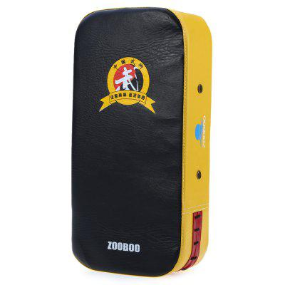 Zooboo PU Leather Square Punching Kicking Foot Pad Target MMA Boxing Mitt Focus Punch Pad ( Single )