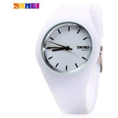 Skmei 9068 Unisex Quartz Watch Silicon Band