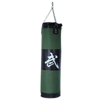 Zooboo 100cm Boxing Striking Drop Hollow Sand Bag with Chain Martial Art
