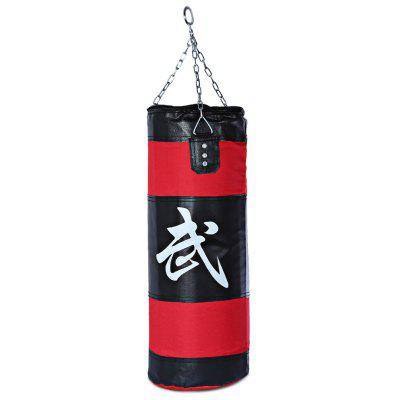 Zooboo 70cm MMA Empty Punching Bag with Chain Martial Art Hollow Taekwondo Boxing Training Fitness Sandbag