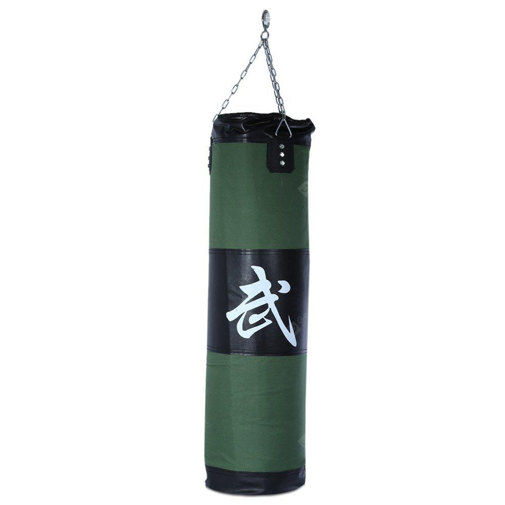 Zooboo 100cm Empty Punching Bag with Chain Martial Art Hollow Taekwondo Boxing Training Fitness Sandbag