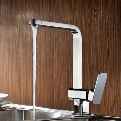 LD-2832 360 Degree Rotary Chrome Kitchen Mixer Faucet