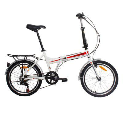 F1 20 inches 7 Speed Folding Bicycle