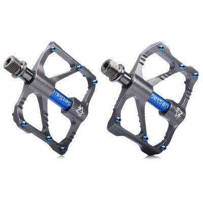 YD185 2PCS Chrome Molybdenum Steel Shaft Bicycle Pedals