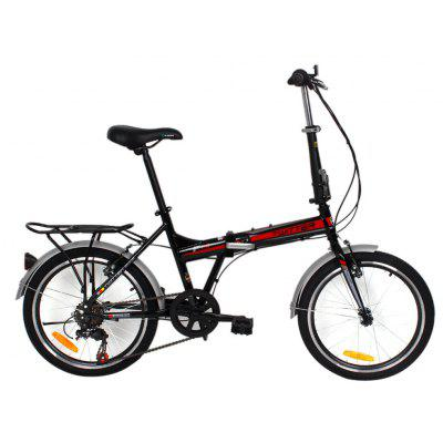 F1 20 inches 7 Speed Folding Bicycle Double-layer Rim
