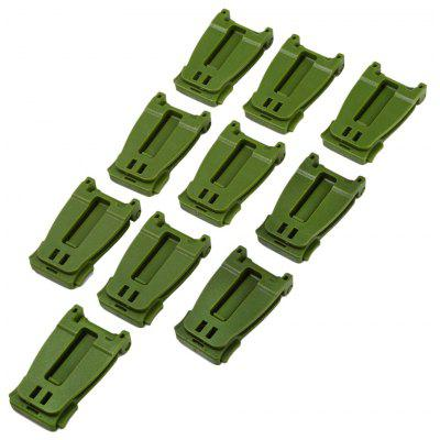 Buy ARMY GREEN 10pcs M436 30mm Molle Strap Webbing Buckle for $3.94 in GearBest store