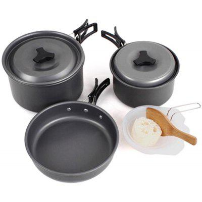 AOTU Portable Camping Cookware Set