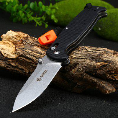 Buy BLACK Ganzo G7412-BK-WS Stainless Steel Folding Knife for $14.73 in GearBest store