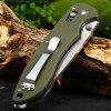 best Ganzo G740-GR Portable Axis Lock Pocket Knife