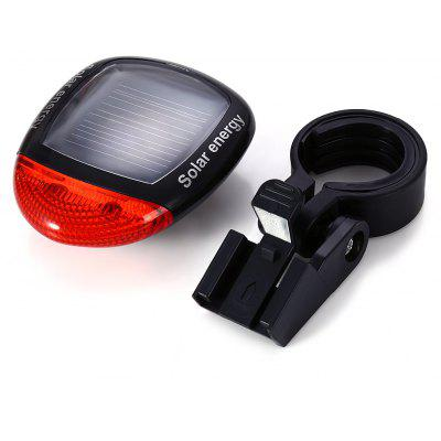 2 LED 3 Mode Solar Power Rechargeable Bicycle Tail Light