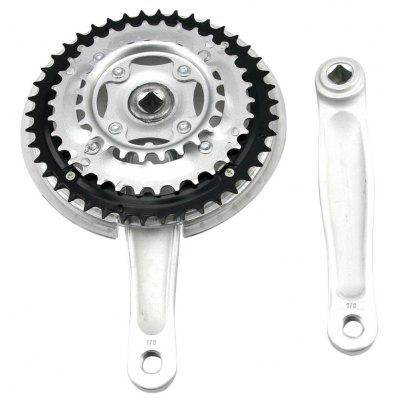 Detachable 24 / 34 / 42 Teeth Bicycle Chain Wheel