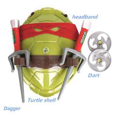 HQF TMNT Wearable Turtles Armor Shell Weapon Toy Cosplay Props hellboy giant right hand anung un rama right hand of doom arms hellboy animated cosplay weapon resin collectible model toy w257