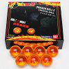 Jingyi Crystal Set of 7Pcs 4cm Dragon Ball 7 Stars Crystal Balls Set Collection Toy photo