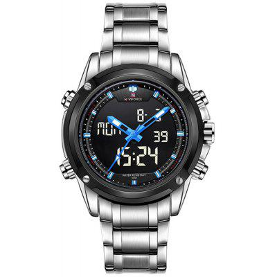 Naviforce Multifunctional Analog Digital Man Watch
