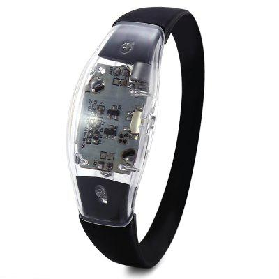 Multi-function Voice Control LED Light Wristband