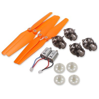 Spare Propeller + Gear + Motor + Motor Base Set Fitting for Syma X8C Quadcopter