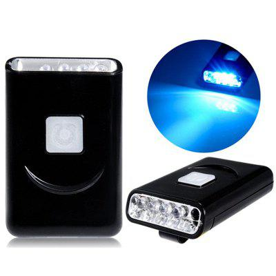 G017 40 Lumens 5 LED USB Rechargeable Hat Clip Light