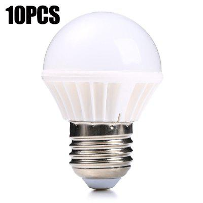 10PCS E27 3W SMD 2835 210LM LED Bulb Light
