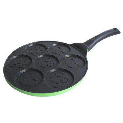 Aluminum Alloy Non-stick Egg Frying Pan Pancakes Baking Tool