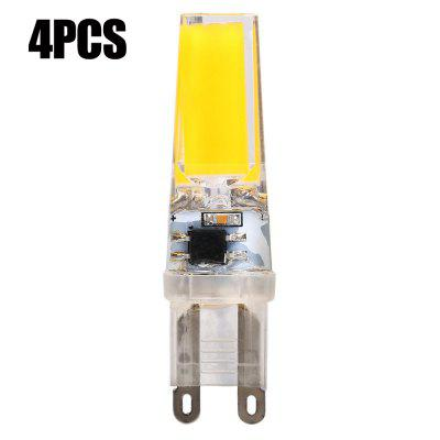 4pcs 8W G9 COB 560Lm Dimming LED Corn Bulb