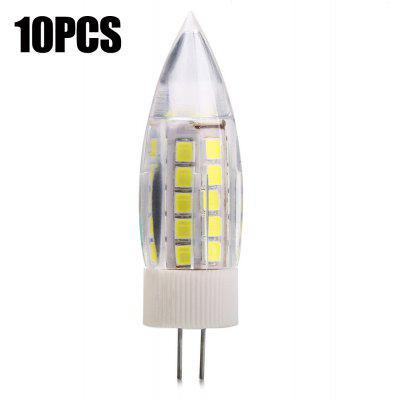 10PCS G4 6W SMD 2835 420Lm LED Candle Light