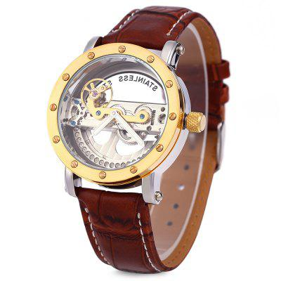 Shenhua 9541 Hollow Out Mechanical Watch for Men