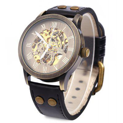 Shenhua 9269 Hollow Mechanical Watch for Men