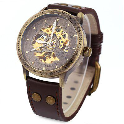 Buy Shenhua 9259 Hollow Mechanical Watch for Men BROWN Watches & Jewelry > Men's Watches for $32.46 in GearBest store