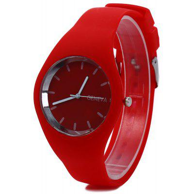 Quartz Watch Ultrathin Sports Wristwatch for Women