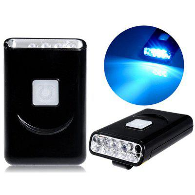 G017 Luce Ricaricabile USB a LED con Clip 40 Lumen 5 LED