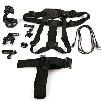 Original Dazzne KT-104 Action Camera Accessory Kit
