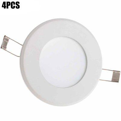 4PCS XinYiTong 6W SMD 2835 600Lm Round LED Panel Light