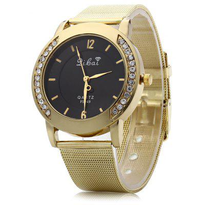 Artificial Diamond Quartz Watch for Women