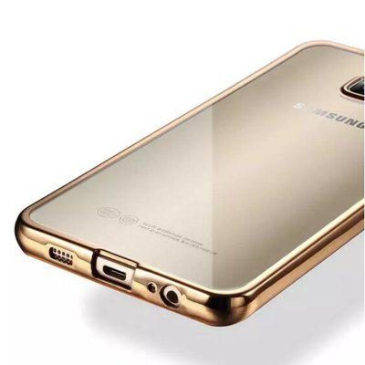 ASLING TPU Soft Protective Case for Samsung Galaxy S6 Edge PlusSamsung S Series<br>ASLING TPU Soft Protective Case for Samsung Galaxy S6 Edge Plus<br><br>Brand: ASLING<br>Color: Gold,Rose Gold,Silver<br>Compatible for Samsung: Samsung Galaxy S6 Edge Plus<br>Features: Anti-knock, Back Cover<br>For: Samsung Mobile Phone<br>Material: TPU<br>Package Contents: 1 x Case<br>Package size (L x W x H): 20.00 x 11.00 x 1.10 cm / 7.87 x 4.33 x 0.43 inches<br>Package weight: 0.050 KG<br>Product size (L x W x H): 16.10 x 8.00 x 0.90 cm / 6.34 x 3.15 x 0.35 inches<br>Product weight: 0.020KG<br>Style: Transparent