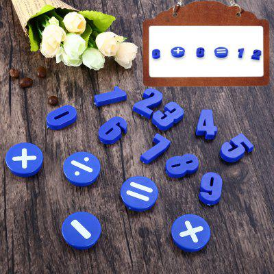 15PCS Funi CT-992 Round Magnetic Numbers CountersOther Supplies<br>15PCS Funi CT-992 Round Magnetic Numbers Counters<br><br>Color: Blue<br>Material: Plastic<br>Package Contents: 15 x Funi CT-992 Magnetic Numbers Counters Bean Type<br>Package size (L x W x H): 21.60 x 9.90 x 1.00 cm / 8.5 x 3.9 x 0.39 inches<br>Package weight: 0.1150 kg<br>Product weight: 0.0990 kg