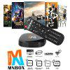 MNBOX Chinese Quad Core Android TV Box - BLACK