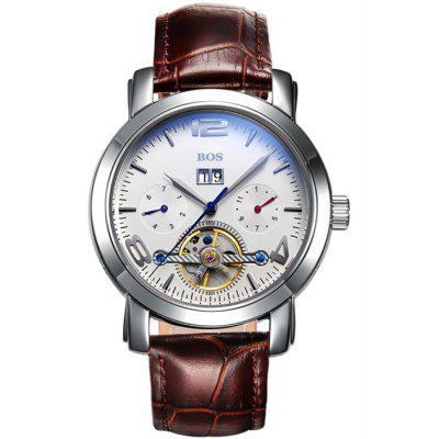 BOS 9002G Male Automatic Mechanical Watch