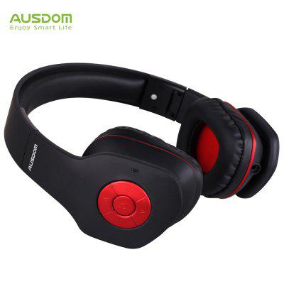 AUSDOM AH862 Bluetooth Wired and Wireless Audio Headphones Speaker Earphones with Mic