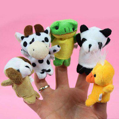 10Pcs Finger Puppet Cartoon Animal Figure Cute Present for KidsStuffed Cartoon Toys<br>10Pcs Finger Puppet Cartoon Animal Figure Cute Present for Kids<br><br>Features: Cartoon<br>Materials: Cellucotton<br>Package Contents: 10 x Finger Puppet<br>Package size: 13.00 x 9.00 x 5.00 cm / 5.12 x 3.54 x 1.97 inches<br>Package weight: 0.0620 kg<br>Series: Fashion<br>Theme: Other