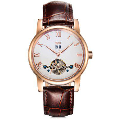 BOS 9005G Date Display Male Automatic Mechanical Watch