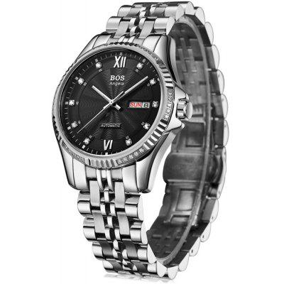 BOS 9012G Male Automatic Mechanical Watch
