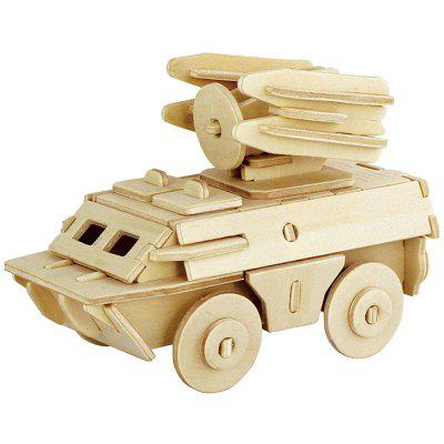 Robotime 3D Armored Truck Wooden Puzzle