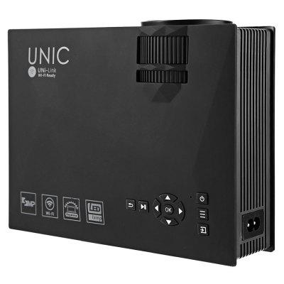 Фото UNIC UC46 + Mini WiFi Portable LED Projector with Miracast DLNA Airplay. Купить в РФ