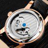 BOS 9005G Date Display Male Automatic Mechanical Watch - SILVER AND BROWN