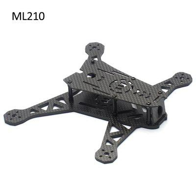 Extra Spare LISAMRC ML210 Carbon Fiber Frame Kit for Multicopter DIY