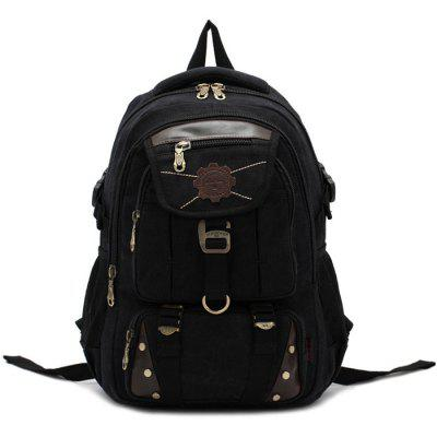 KAUKKO 13.5L Student Backpack with U Flash Disk Pouch