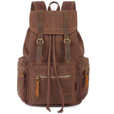 Buy COFFEE KAUKKO 14L Student Casual Backpack All Cotton Lining for $29.47 in GearBest store