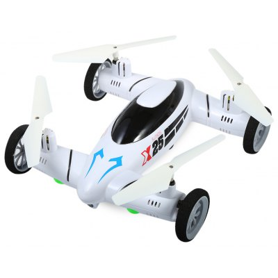 SY X25 2.4G RC Quadcopter Land / Sky 2 в 1 UFO
